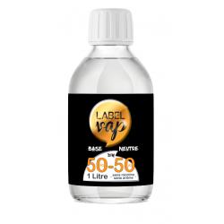 BASE LABELVAP 1 litre en 0 mg