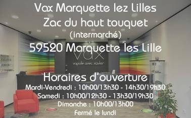 Magasin vax Marquette lez lilles